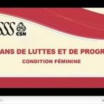 condition féminine 2011