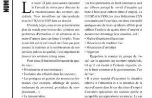 Bulletin Info-ouvriers, No. 2, 22 juin 2011