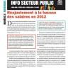 Bulletin Info Secteur public de novembre 2012