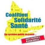 La Coalition solidarité santé salue la nouvelle ministre de la Santé et des Services sociaux