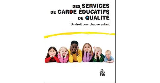 Semaine nationale des services de garde éducatifs à la petite enfance