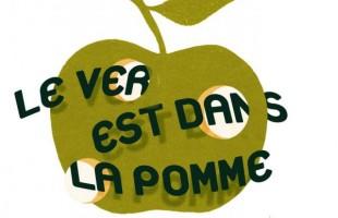Article dans La Presse sur le lancement de la campagne Le ver est dans la pomme