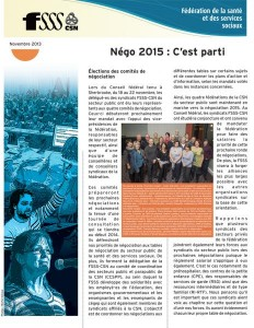 info-négo nov. 2013