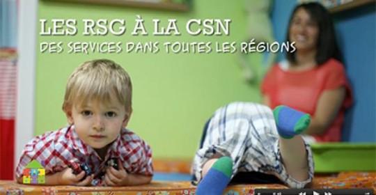 2e capsule vidéo – Les RSG à la CSN, des services dans toutes les régions