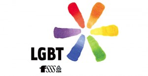 Logo du comité LGBT de la FSSS-CSN