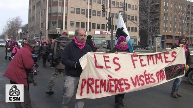 La stagnation des conditions de vie des femmes au cœur du règne libéral