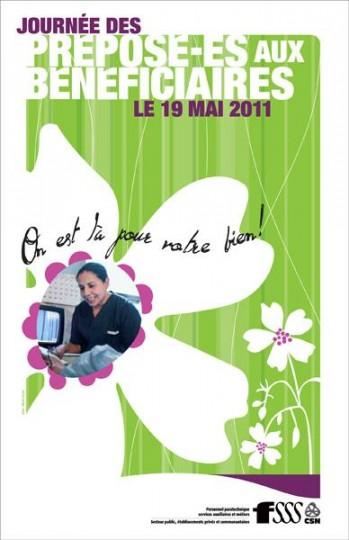 Journée des préposé-es aux bénéficiaires le 19 mai 2011