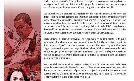 Bulletin d'information secteur public