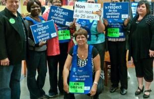 Fin du conflit du casse-croûte au CHU Sainte-Justine – Les syndiqués satisfaits