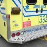 Les ambulanciers en moyens de pression