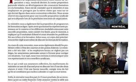Bulletin Info-Négo no 17 des préhospitaliers