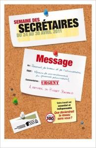 semaine des secrétaires 2011