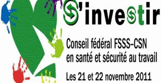 Conseil fédéral en SST, novembre 2011, La Malbaie – Incidence de C-21