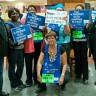 Casse-croûte privé du groupe Compass au CHU Sainte-Justine : salarié-es en grève!