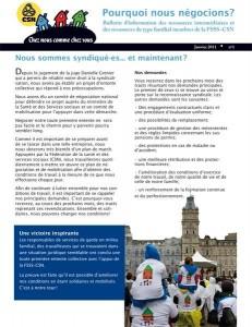 Info négo 2011