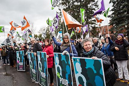 Entente de principe pour le Syndicat des travailleuses et des travailleurs de la santé et des services sociaux de l'Outaouais — CSN