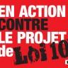 Projet de loi 10 : Aucune solution pour la population