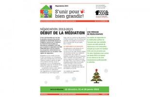 Négociation 2013-2015