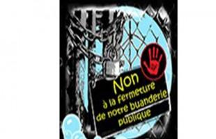 Pétitions contre la privatisation des buanderies