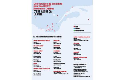 Des services partout au Québec pour les familles d'accueil (RI et RTF jeunesse et adulte)