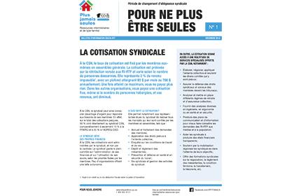 Bulletin d'information #1 des RI-RTF