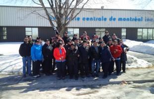 Lock-out illégal à la Buanderie centrale de Montréal