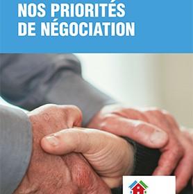 Priorités de négociation des RI-RTF en 2015