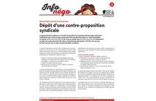 Bulletin Info-Négo #3 des syndicats des CPE