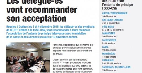 Info-Négo no.5 de la négociation des RI-RTF