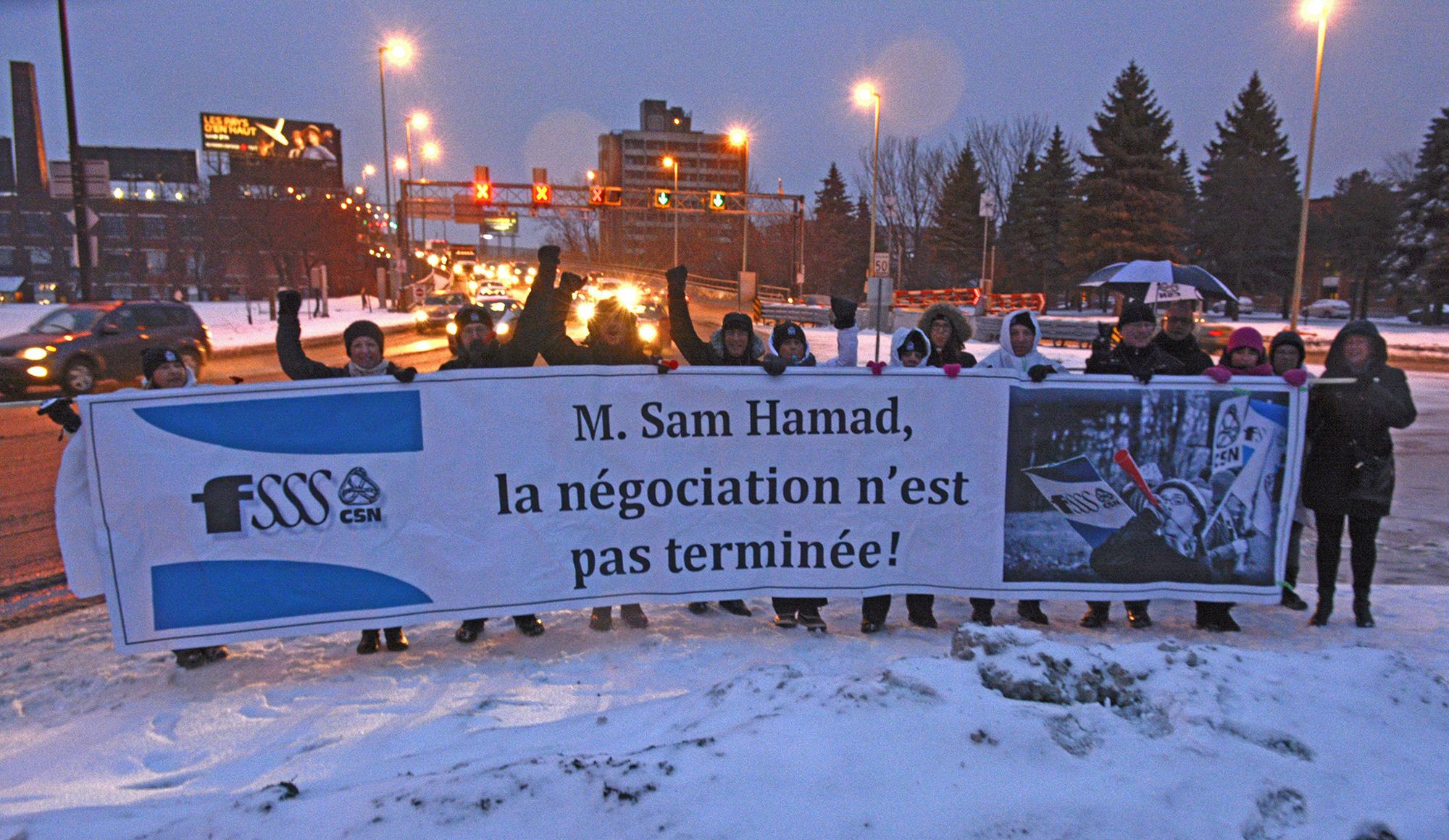 Monsieur Hamad, la négociation n'est pas terminée!