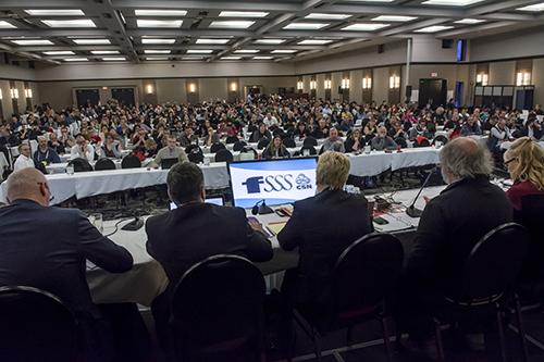 Les délégué-es de la FSSS-CSN recommandent l'adoption de l'entente bonifiée