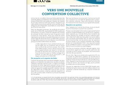 Bulletin Info-Négo #14 de la négociation du secteur public