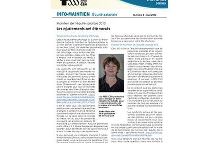 Bulletin Info-Maintien de mai 2016
