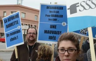 Demande d'un moratoire sur les transferts de ressources professionnelles des CLSC vers les GMF