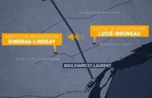 Déménagement du centre de réadaptation Lucie-Bruneau