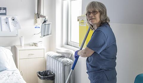 Une force pour le personnel en entretien ménager