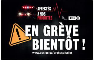 Préhospitalier : En grève à partir du 15 décembre