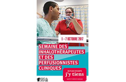 Semaine des inhalothérapeutes et des perfusionnistes cliniques
