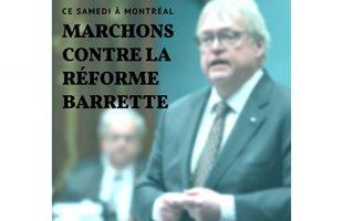 Manifestation ce samedi à Montréal contre la réforme Barrette