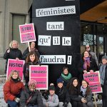 8 mars 2018 : Une double action pour dénoncer les injustices envers les femmes