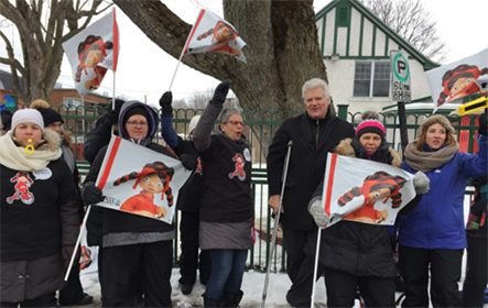 Grève d'un jour dans 20 CPE du Cœur du Québec
