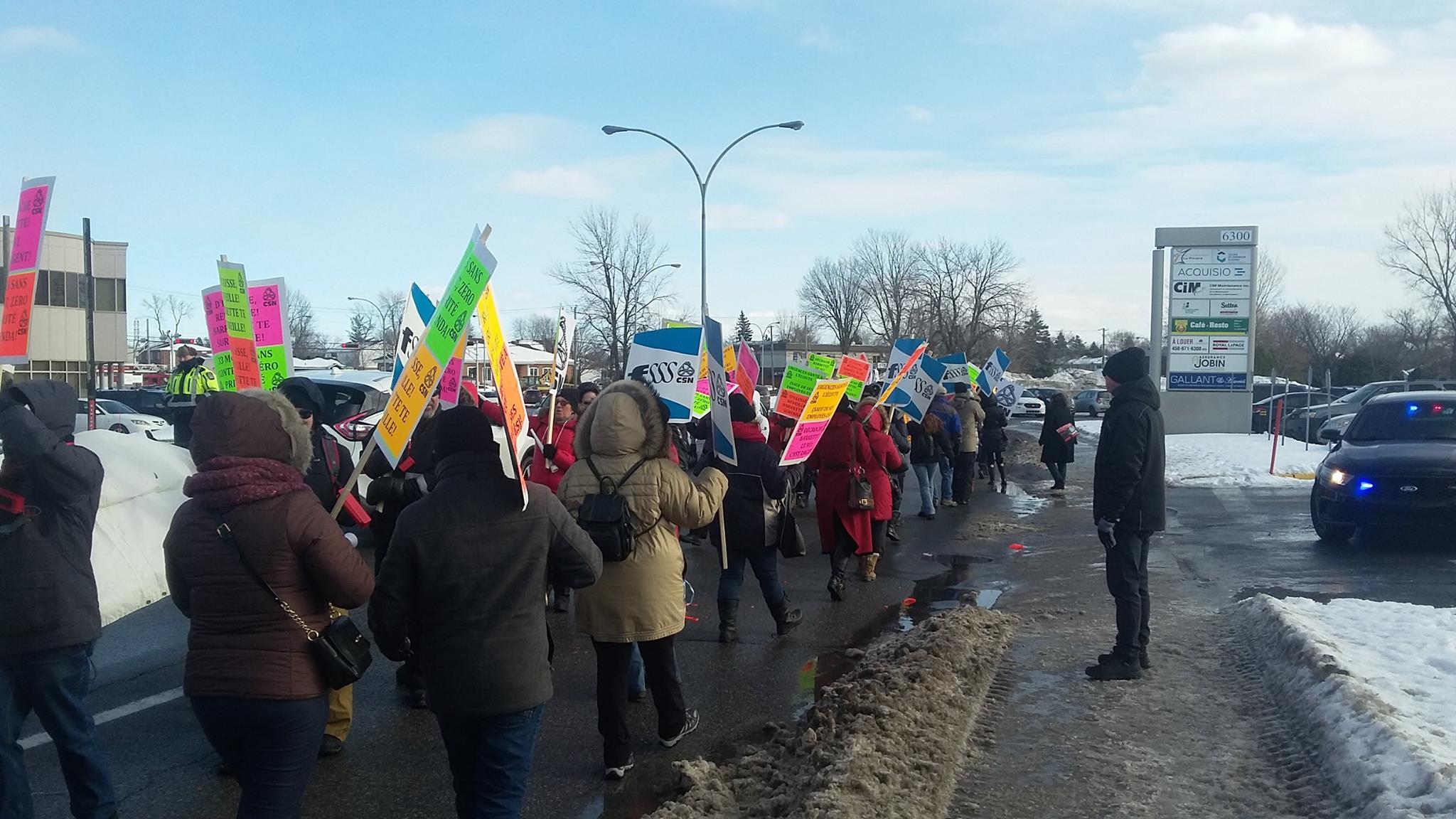 Nouvelle grève de deux jours des 210 répartiteurs, répartitrices et employé-es de bureau en colère