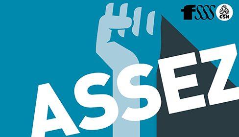 La FSSS–CSN lance la campagne Assez! Personnel surchargé