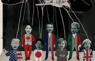 Actions contre le G7 à Québec