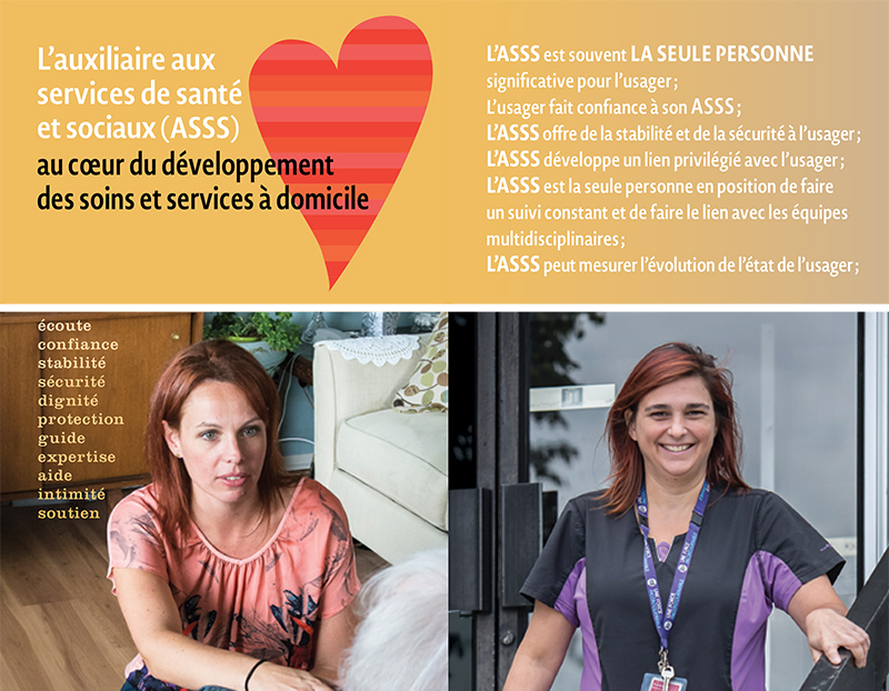 L'ASSS au coeur du développement des soins à domicile
