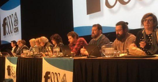Négociation 2020 : déterminées à agir pour mettre fin à la crise du réseau
