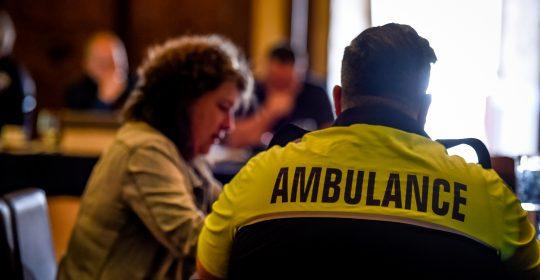 Rapport préliminaire sur la réponse préhospitalière à la pandémie