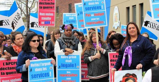 L'acharnement patronal doit impérativement cesser dans des CPE de Montréal-Laval