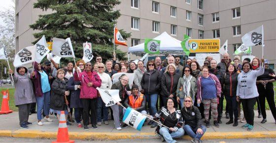 Le personnel dénonce la surcharge de travail permanente au CHSLD Pierre-Joseph-Triest