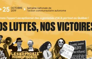 La FSSS-CSN souligne la Semaine nationale de l'action communautaire autonome (SNACA)